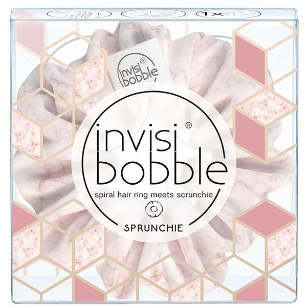Резинка Для Волос, InvisiBobble Sprunchie, Marblelous My Precious