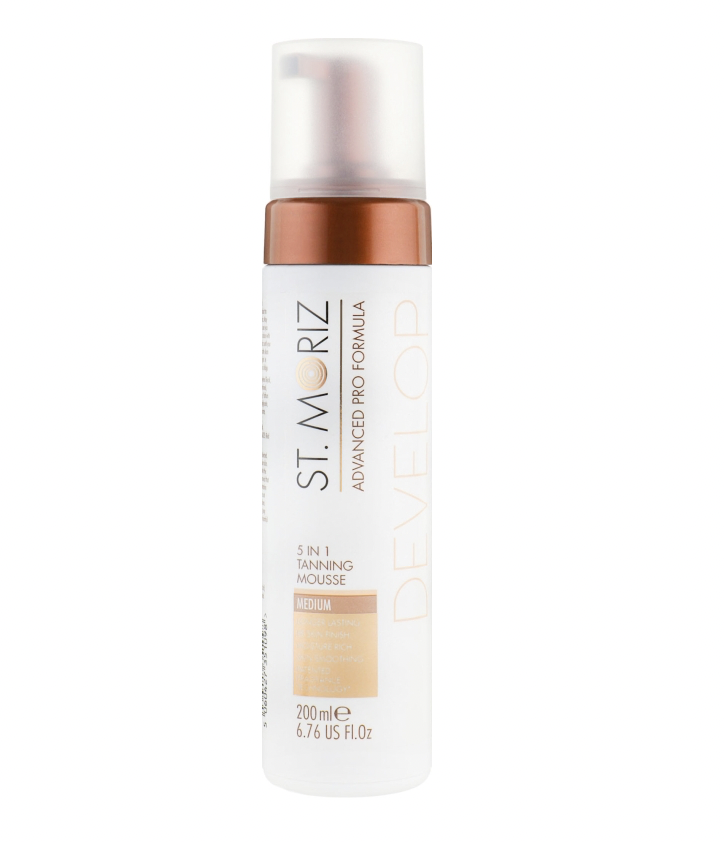 Мусс-автозагар 5в1, St.Moriz 5in1 Tanning Mousse Medium