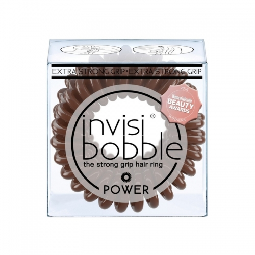 Резинка для волос, InvisiBobble POWER, Pretzel Brown