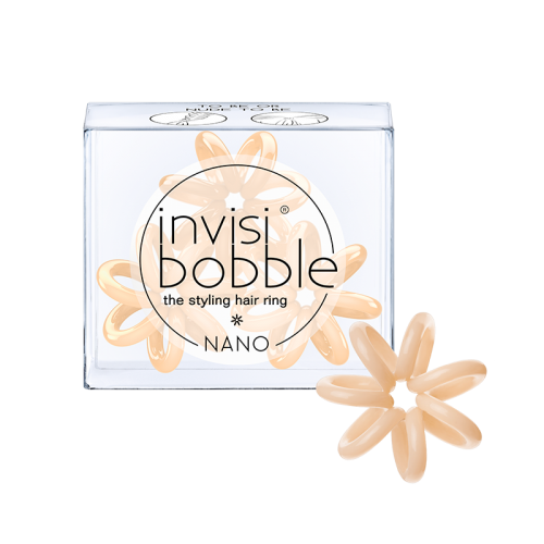 Резинка для волос, InvisiBobble Nano, To Be or Nude to Be