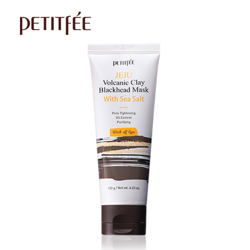 Маска для лица, Petitfee Jeju Volcanic Clay Blackhead Mask With Sea Salt