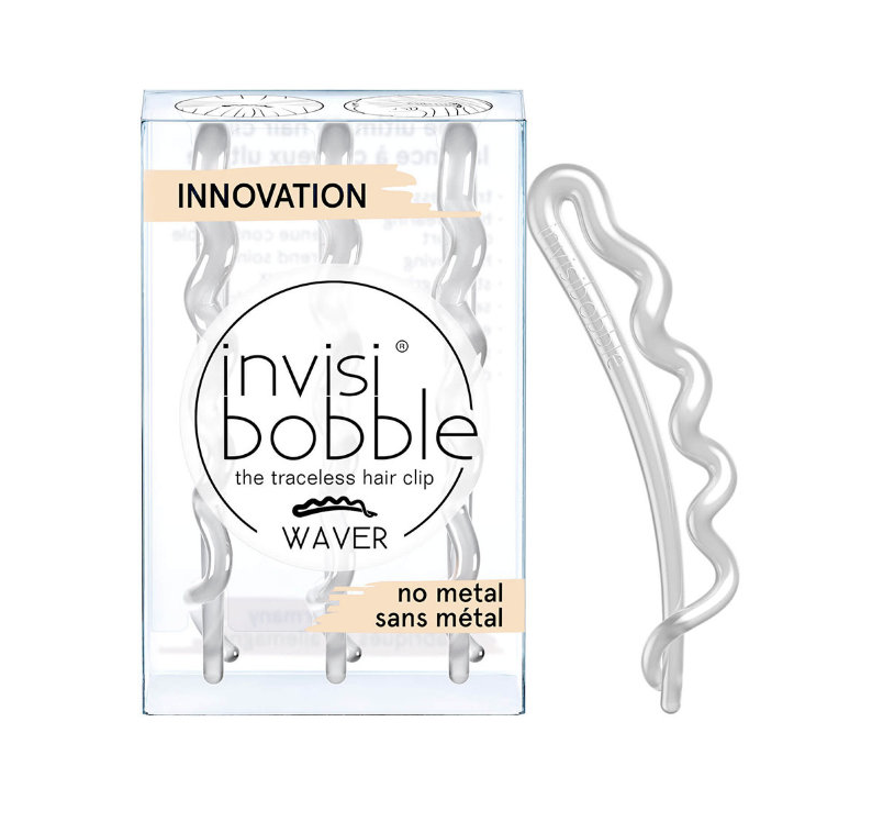 Заколка для волос, InvisiBobble Waver Plus, Crystal Clear