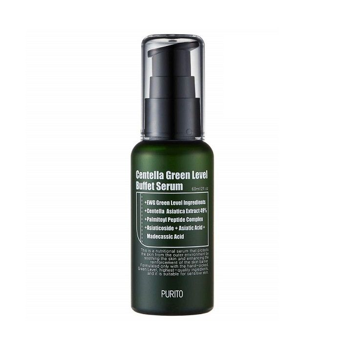 Сыворотка с экстрактом центеллы PURITO Centella Green Level Buffet Serum (60 мл)