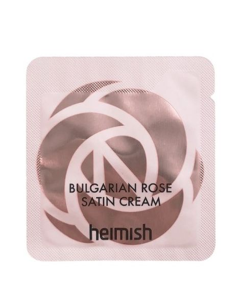 Пробник крема на основе болгарской розы Heimish Bulgarian Rose Satin Cream (1,5 мл)
